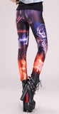 Hallows Eve Vampire Cartoon Leggings Design 215