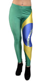 Brazilian Flag Leggings Design 260