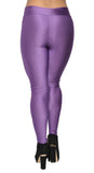 Purple V-waist Leggings Design 312