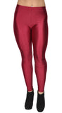 Shiny Red Candy Neon Leggings Design 661