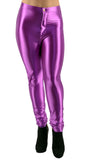 Purple Shiny Disco Pants Design 624