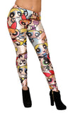 Powerpuff Girls Leggings Design 428