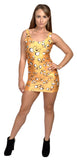 Adventure Time Jake Sleeveless Mini-Dress Design 3085