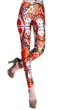 Queen of Hearts Leggings Design 501