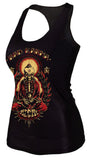 Tattoo Cult Bad Karma Black Tank Top Design 13065