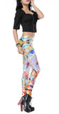 Lotus Flower Leggings Design 229