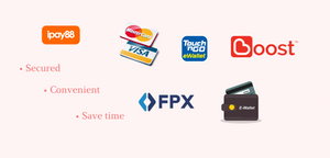 Beautibae & Ipay88 Malaysia Online Payment Gateway with E-Wallet FPX