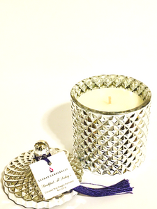 """Breakfast At Leshay's"" Diamond Jar Candle"