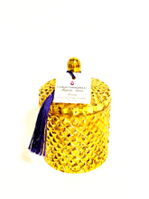 "Load image into Gallery viewer, ""Magnolia Tarocco Blossom"" Diamond Jar Candle"