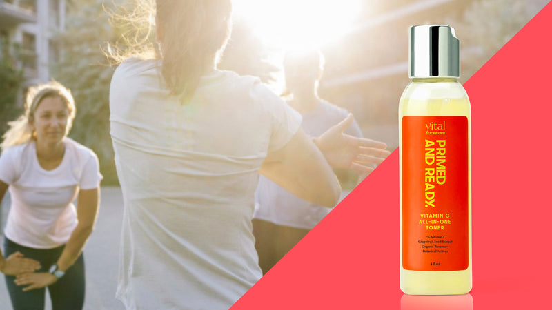 PRIMED AND READY - NATURAL VITAMIN C ALL-IN-ONE TONER