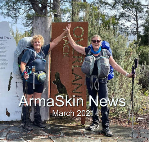 ArmaSkin News March 2021 for Hikers and Runners