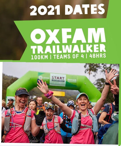 OxFam Trailwalkers use ArmaSkin for Blister Prevention