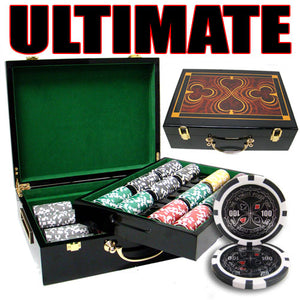 Ultimate - 500 Piece Set (Glossy Case) - Gutshot Poker Supply
