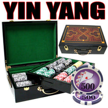 Load image into Gallery viewer, Yin Yang - 500 Piece Set (Glossy Case) - Gutshot Poker Supply