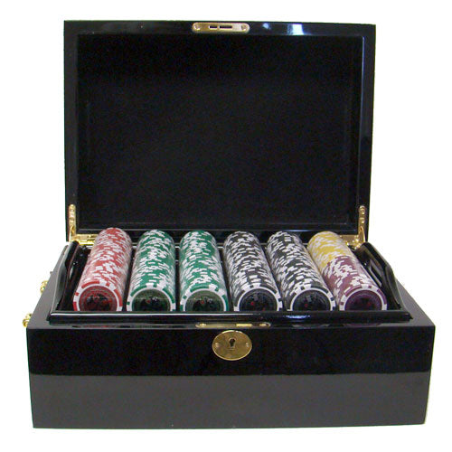 Ultimate - 500 Piece Set (Mahogany Case) - Gutshot Poker Supply