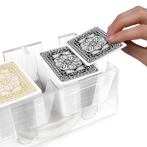 6-Deck Rotating Playing Card Holder - Gutshot Poker Supply