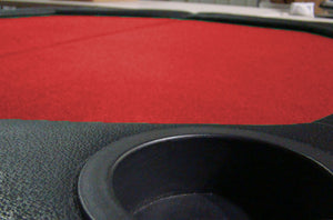 "48"" Octagonal Folding Table Top w/ Padded Rail (Red) - Gutshot Poker Supply"
