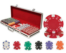 Load image into Gallery viewer, Striped Dice - 500 Piece Set - Gutshot Poker Supply