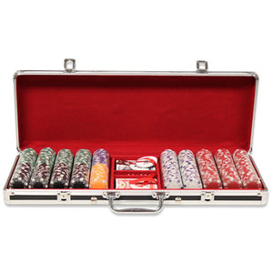 Striped Dice - 500 Piece Set - Gutshot Poker Supply