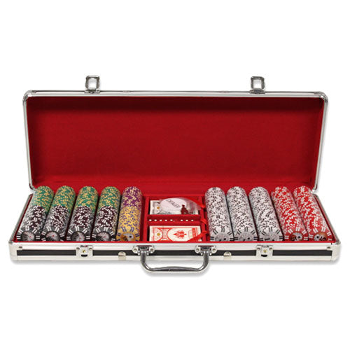 Ultimate - 500 Piece Set (Black Alumimum) - Gutshot Poker Supply
