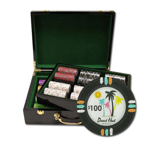 Desert Heat 500 Piece Set (Glossy Case) - Gutshot Poker Supply