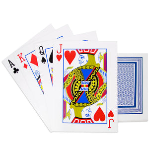 "Super Jumbo Oversize Playing Cards (8.25"" x 11.75"") - Gutshot Poker Supply"