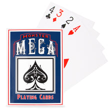 "Load image into Gallery viewer, Super Jumbo Oversize Playing Cards (8.25"" x 11.75"") - Gutshot Poker Supply"