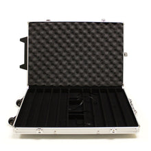 Load image into Gallery viewer, 1000 Piece Rolling Aluminum Poker Chip Case - Gutshot Poker Supply