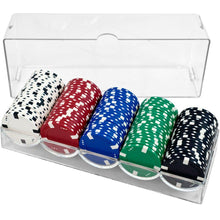 Load image into Gallery viewer, Acyrlic Chip Rack (with Lid) - Set of 10 - Gutshot Poker Supply