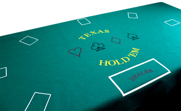 Texas Hold 'Em Felt - Gutshot Poker Supply