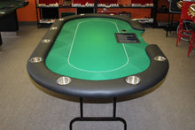 Load image into Gallery viewer, Sublimation Poker Table Felt - Black - Gutshot Poker Supply