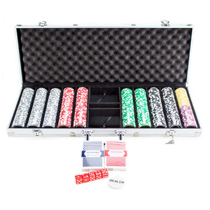 Ultimate - 500 Piece Set - Gutshot Poker Supply