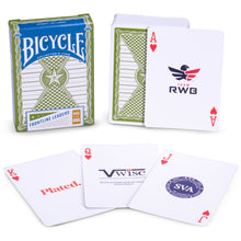 Load image into Gallery viewer, Bicycle Frontline Leaders Playing Cards