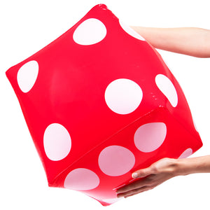 Inflatable Casino Dice (5 Pack) - Gutshot Poker Supply