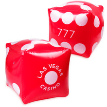 Load image into Gallery viewer, Inflatable Casino Dice (5 Pack) - Gutshot Poker Supply
