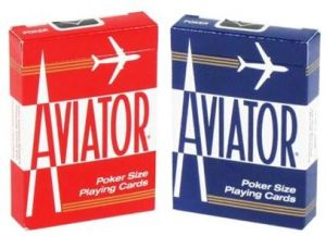Aviator Poker Playing Cards - 2 Deck Set - Gutshot Poker Supply