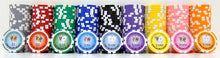 Load image into Gallery viewer, Tournament Series Poker Chips - 25 Pieces - Gutshot Poker Supply