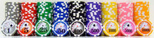 Load image into Gallery viewer, Yin Yang Poker Chips - 25 Pieces - Gutshot Poker Supply