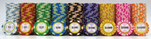 Load image into Gallery viewer, Monte Carlo Poker Chips - 25 Pieces - Gutshot Poker Supply
