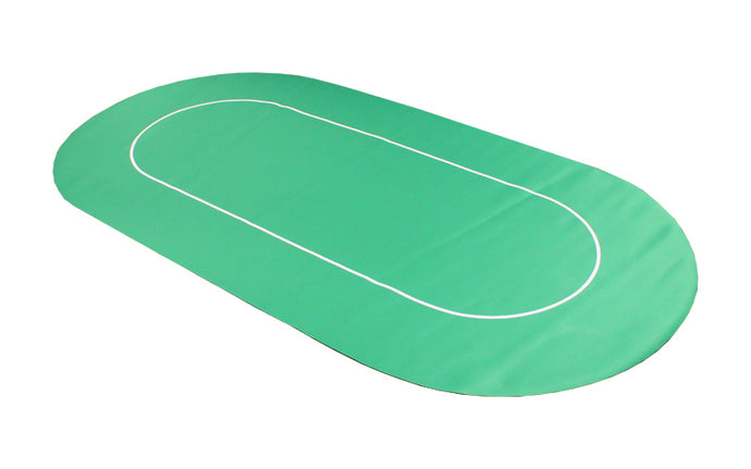 Rollout Poker Table Top - Green - Gutshot Poker Supply