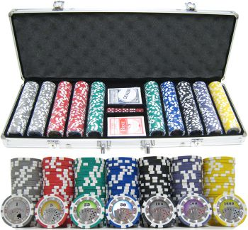 Casino Royale - 500 Piece Set - Gutshot Poker Supply