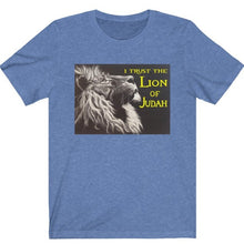 Load image into Gallery viewer, I Trust the Lion of Judah Tee - Display My Faith