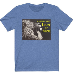 I Trust the Lion of Judah Tee - Display My Faith