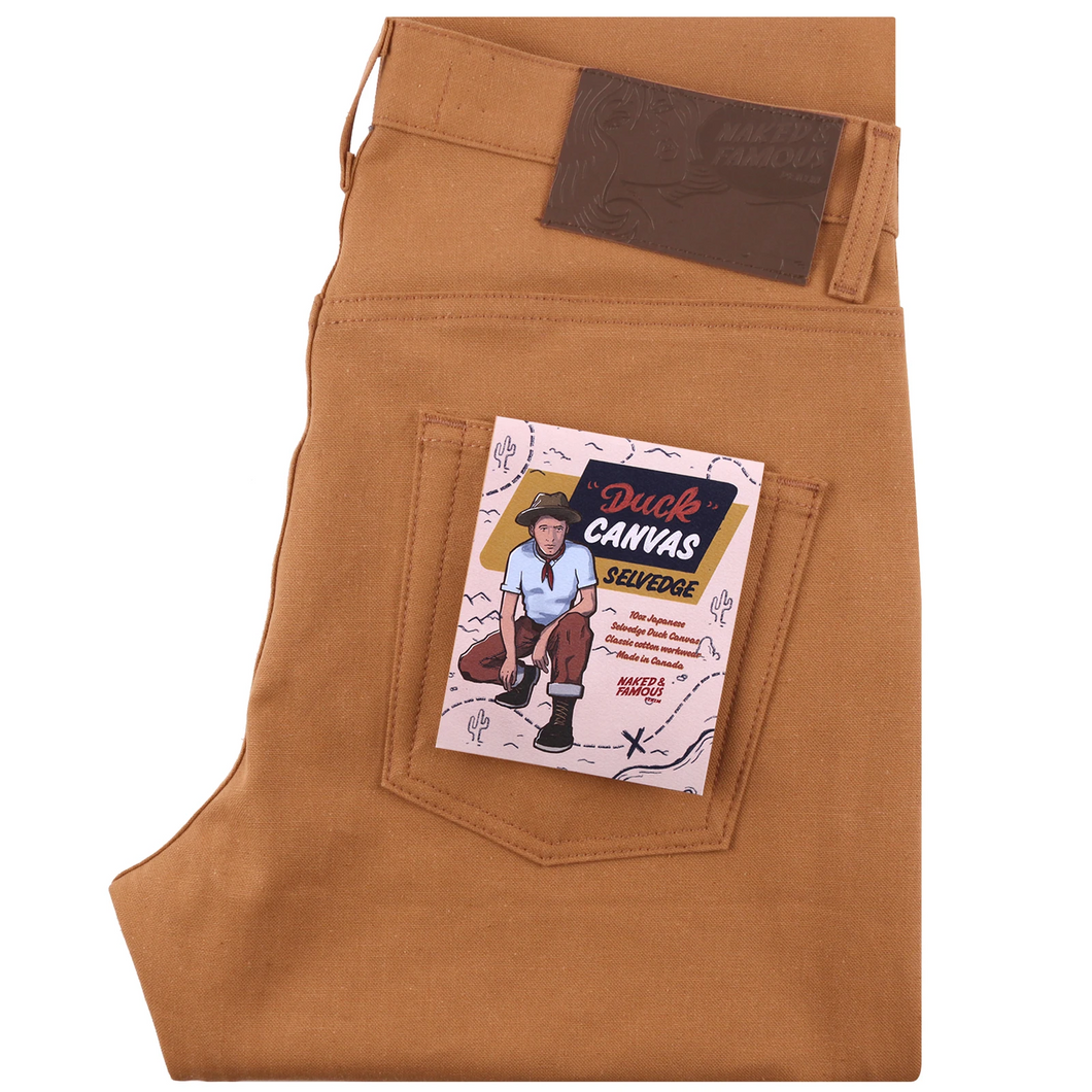Easy Guy Duck Canvas Selvedge