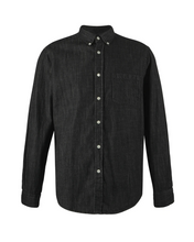 Load image into Gallery viewer, Black Denim Shirt