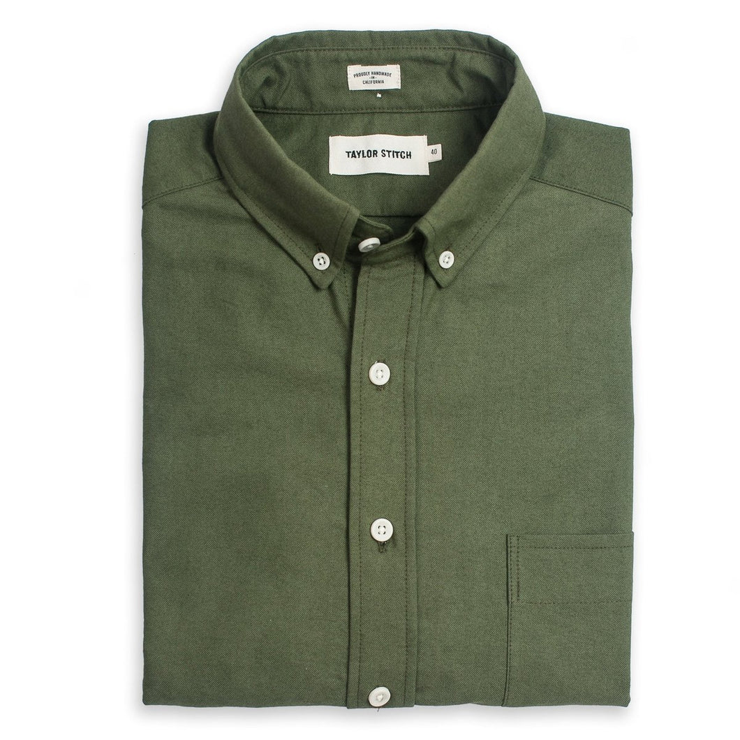The Jack in Army Green Oxford