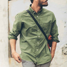 Load image into Gallery viewer, The Jack in Army Green Oxford