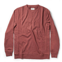Load image into Gallery viewer, The Crewneck in Brick Red Terry
