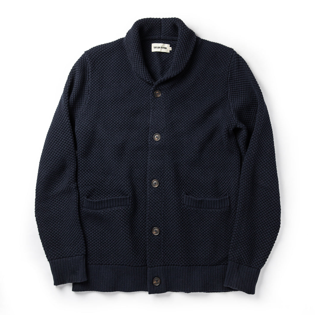 Crawford Sweater in Navy