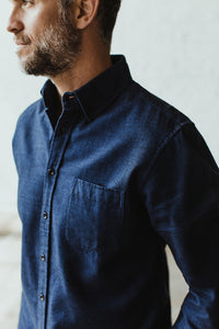 The Jack in Brushed Heather Navy